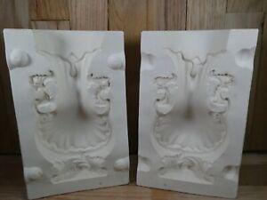Alberta's Ceramic Slip Mold 183 Ornate Large Vase 1978