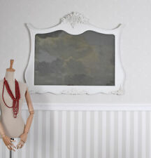 Miroir Mural Shabby Antique Dekospiegel Blanc de Console
