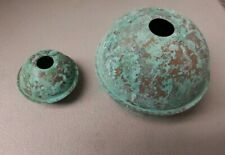 Copper Balls 2'' & 4'' well made antiqued for weathervanes / Lightening Rods