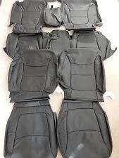 2014-2015 Kia Sorento LX OEM Factory leather seat covers (Black)