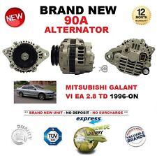PER MITSUBISHI GALANT VI EA 2.8 TD DAL 1996 in poi nuovo 90A ALTERNATORE