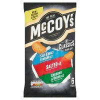 3x Mccoy's Classic Variety Crisps 6X25g ***FREE UK DELIVERY***