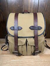 Filson Vintage Quality Rucksack Backpack 262 -  Excellent!