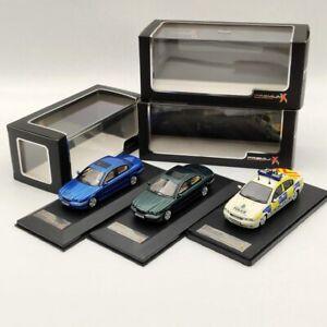 Premium X 1/43 Jaguar X-Type 2004 White/Green/Blue Resin Models Collection