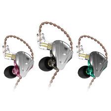 KZ ZSX 5BA+1DD 12 unidad Auriculares tecnología Hybrid 0.75mm 2 Pin Cable Desmontable