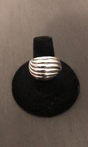 David Yurman classic cable ring sz8