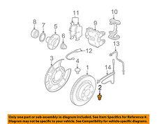 BMW OEM 00-18 X5 Brake-Rear-Rotor Bolt 34211161806