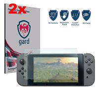 2x Genuine Gard® Premium Tempered Glass Screen Protectors for Nintendo Switch