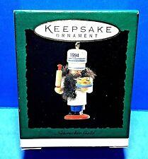 """Hallmark """"Nutcracker Guild"""" Miniature Ornament 1994"""