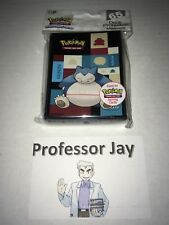 Pokemon Cards ULTRA PRO Premium SNORLAX Sleeves 2018 LIMITED EDITION TCG
