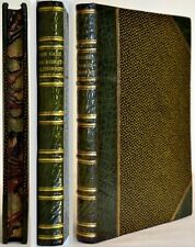 1884 CASE FOR DISESTABLISHMENT RELIGIOUS EQUALITY FINE LEATHER BINDING MARBLED
