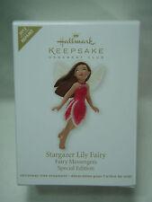 2012 Hallmark Keepsake Stargazer Lily Fairy Messengers Special Edition Repaint
