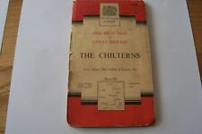 Collectors, one inch ordnance survey map of The Chilterns, 1959 sheet 159