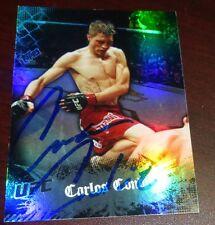 Carlos Condit Signed 2010 UFC Topps Main Event Card #7 PSA/DNA COA Autograph 143