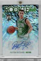 2020-21 NBA Hoops Rookie Ink Auto Payton Pritchard RC SP Celtics