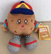 """2004 Gund Chip & Cookie Famous Amous Mascot Chip 7"""" Sitting Stuffed Plush W/Tags"""