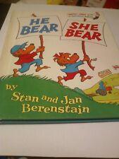 He Bear, She Bear - 1975 publication - Stan & Jan Berenstain