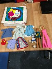 Vintage Lot Of Skipper Doll 1967 And Case 1969 And Barbie 1966 Japan Clothes