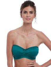 Fantasie Marseille Bandeau Bikini Top 6691 Womens Underwired Swimwear Pine Green