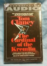 NEW! Tom Clancy the Cardinal of the Kremlin audiobook read by David Ogden Stiers