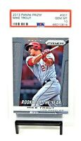 2013 Prizm MVP Angels MIKE TROUT Rookie of the Year Card PSA 10 GEM MINT Pop 59