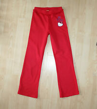 Sanrio Hello Kitty rouge volants Sweat Pantalon Lounge Pantalon Pantalon Sz 10 ans