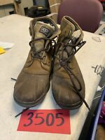 Womens Sz 6.5 UGG Australia Waterproof Leather Cecile Duck Tan Ankle Boots