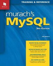 Murach's MySql, Paperback by Murach, Joel, Brand New, Free shipping in the Us