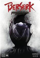 Berserk: The Golden Age Arc - The Movie Collection (DVD, 2016, 3-Disc Set) New