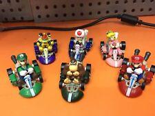 Juego De Carreras De Kart Tire hacia atrás coches de Super Mario Luigi Bros Princesa Sapo Juguete 6 un.