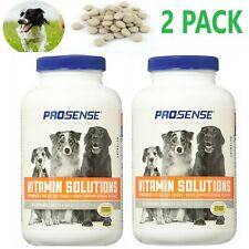 Pet MultiVitamin Dogs All Life Stages Pro Sense Chewable Tablets 180 Count