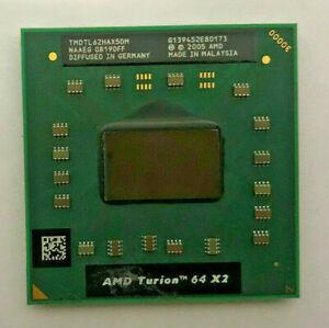 AMD Turion 64 X2 TL-62 TMDTL62HAX5DM Mobile - 2,10GHz - Sockel S1(S1g1) #853