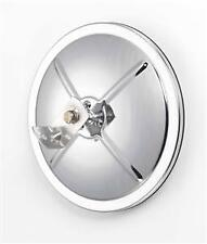 """8 1/2"""" Stainless Steel Convex Mirror With Centered Mounting Stud"""