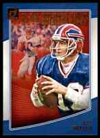 2018 DONRUSS ALL-TIME GRIDIRON KINGS JIM KELLY BUFFALO BILLS #AGK-33 INSERT