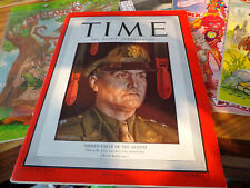 TIME MAGAZINE--AUG 30, 1943--PT 109 JOHN KENNEDY--GENERAL EAKER VOL 43 NUMBER 9