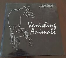 Andy WHAROL, Kurt BENIRSCHKE: Vanishing animals. édité en 1986. Bel état