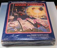 1981 Space Armada Video Game Still Sealed Intellivision Mattel Electronics