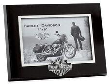 HARLEY-DAVIDSON - 6 x 4-Cornice Foto-Regalo ideale-MOTO-NERO