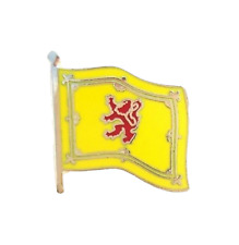 Royal Standard of Scotland Flag Enamel Lapel Pin Badge T036