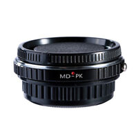 K&F Concept Minolta MD Lens to Pentax PK K-mount Adapter Ring Infinity Focus