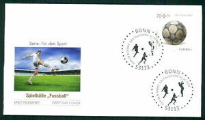 GERMANY FDC 2016 SPORTS SPORT SOCCER FOOTBALL FUßBALL FUTBOL m2563