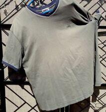 Vintage Men's BKE T Shirt Banded Neck & Sleeves Large Cotton 100% Embroider Logo