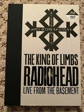 King of Limbs: Live From the Basement by Radiohead (DVD & Blu-Ray w/ booklet)