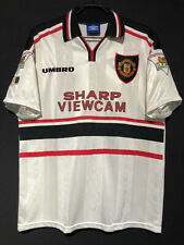 1997-98 Manchester United away Shirt Scholes #18 All Sizes By Umbro