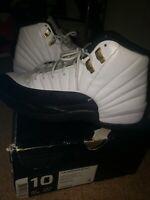 NIKE AIR JORDAN XII 12 WHITE BLACK TAXI 2013 OG RETRO ORIGINAL Size 10