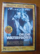On The Waterfront  DVD  Brand New and Sealed Aust. Region 4 -  Marlon Brando