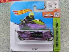 HOT WHEELS 2015 # 187/250 Fly-by VERDE VIOLET HW WORKSHOP