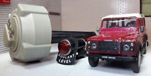 Land Rover Defender 200TDi 300TDi Coolant Expansion Tank Cap Level Gauge & Light