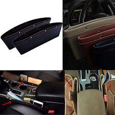 2 Stück Auto Seat Gap Slit Box Ablagefächer Handy Halter Tasche Boxes Organizer
