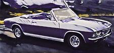 Chevrolet CORVAIR Monza Corsa HT Cabrio 1965 - 69 Frontscheibe Windshield klar